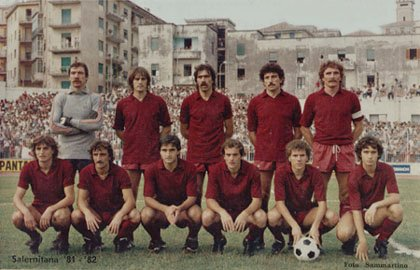 Salernitana 81-82