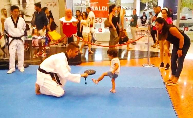Taekwondo, bagno di folla per l'evento organizzato a RomaEst