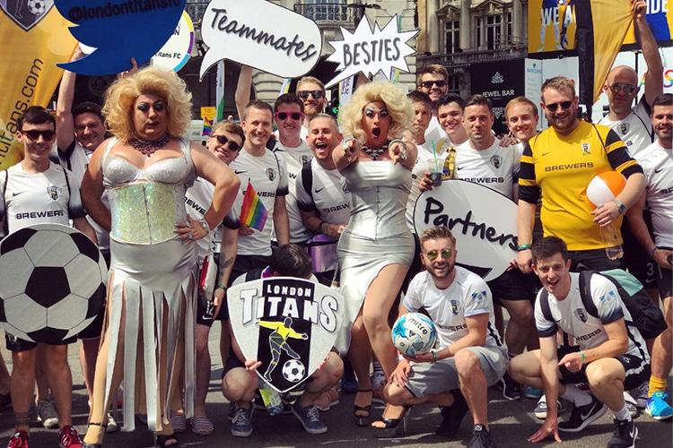 I Titani di Londra e la battaglia contro il pregiudizio più stupido