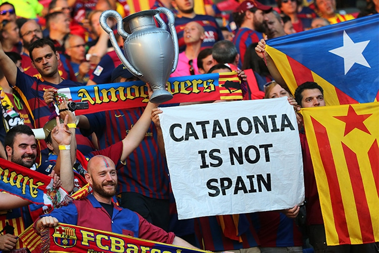 Indipendenza Catalogna: il Barca, la Liga e un matrimonio combinato