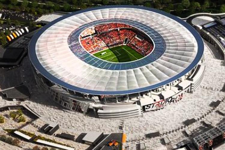 Stadio della Roma a Fiumicino: siamo sicuri che sia solo una provocazione?