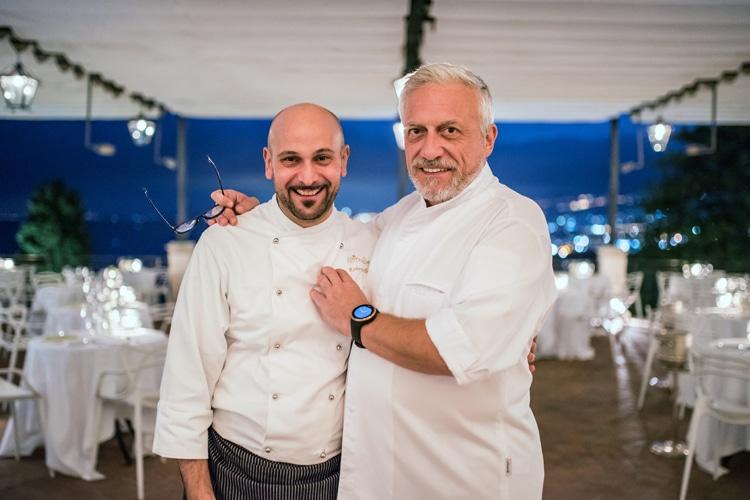 """Davide Scabin e Roberto Toro: chef stellati, piatti gourmet e ottimi Champagne Steinbrück. """"Les étoiles de la gastronomie"""" del Belmond Timeo stupiscono e conquistano."""
