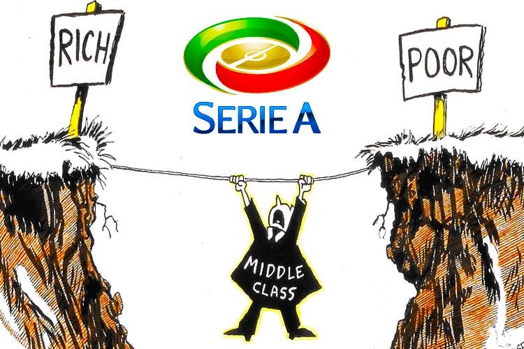 Ricchi o Poveri: dov'è finita la Middle Class della Serie A?