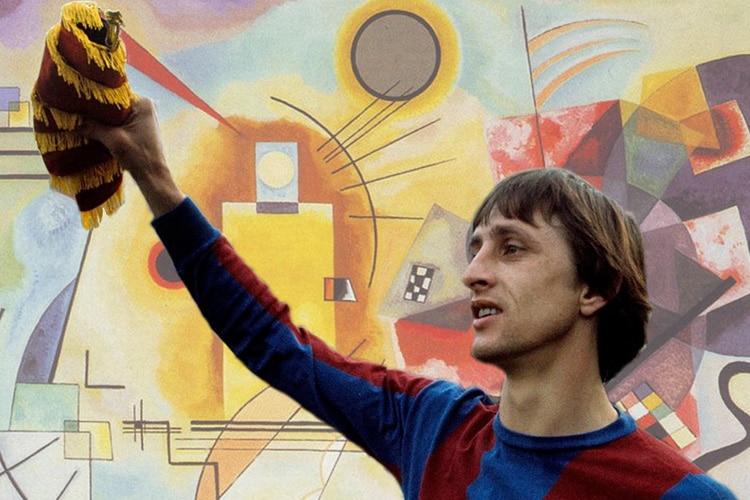 Cruijff e Kandinskij, Rivoluzionari tra geometria e colore