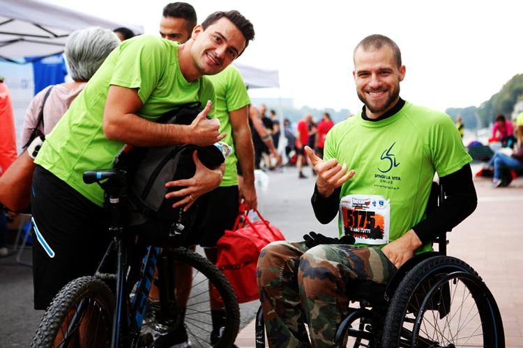 """Inferno run, la corsa ad ostacoli di Andrea Pacini: """"non lasciate che la disabilità vi porti via i sogni nel cassetto"""""""