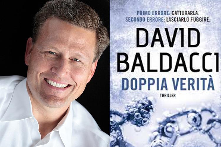 """Con """"Doppia verità"""" torna in libreria David Baldacci, il maestro mondiale del thriller"""