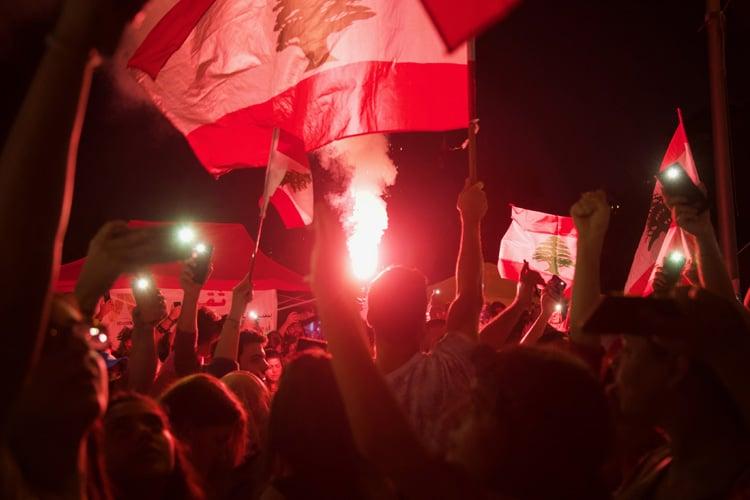 Libano e proteste: anche il tifo scende in piazza per combattere la disuguaglianza